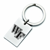Wake Forest Demon Deacons Stainless Steel Key Ring
