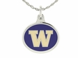 Washington Huskies Enamel Charms