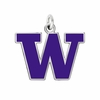 Washington Huskies Logo Charm