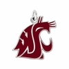 Washington State Cougars Logo Charm