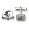 Washington State Cougars Stainless Steel Cufflinks