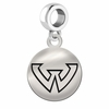 Wayne State Round Dangle Charm
