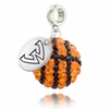 Wayne State Warriors Crystal Drop Charm
