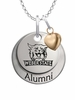 Weber State Wildcats Alumni Necklace with Heart Accent