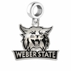 Weber State Wildcats Logo Cut Out Dangle