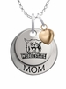 Weber State Wildcats MOM Necklace with Heart Charm