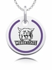 Weber State Wildcats Round Enamel Charm