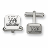 Weber State Wildcats Stainless Steel Cufflinks