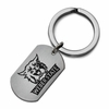 Weber State Wildcats Stainless Steel Key Ring