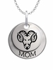 West Chester Golden Rams MOM Necklace