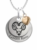 West Chester Golden Rams with Heart Accent