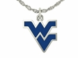 West Virginia Mountaineers Enamel Charm