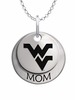 West Virginia Mountaineers MOM Necklace