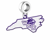 Western Carolina Catamounts Logo Dangle Charm