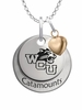 Western Carolina Catamounts with Heart Accent