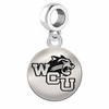 Western Carolina Round Dangle Charm