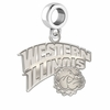 Western Illinois Leathernecks Dangle Charm