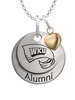 Western Kentucky Hilltoppers Alumni Necklace with Heart Accent