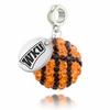 Western Kentucky Hilltoppers Crystal Drop Charm
