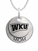 Western Kentucky Hilltoppers MOM Necklace
