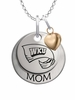 Western Kentucky Hilltoppers MOM Necklace with Heart Charm