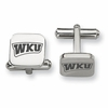 Western Kentucky Hilltoppers Stainless Steel Cufflinks