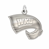 Western Kentucky Hilltoppers Natural Finish Charm