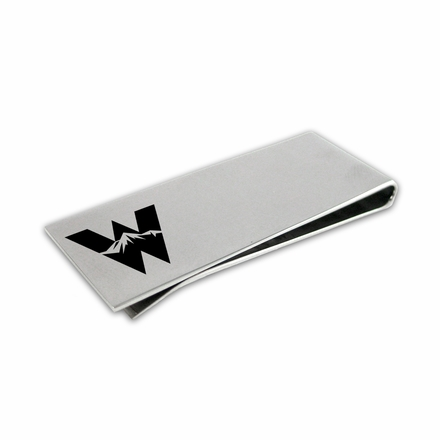 Western State College of Colorado Mountaineers Money Clip