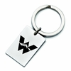 Western State College of Colorado Mountaineers Stainless Steel Key Ring