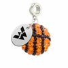 Western State Colorado Mountaineers Crystal Drop Charm