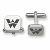 Western State Colorado Mountaineers Stainless Steel Cufflinks
