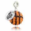 Wichita State Crystal Drop Charm
