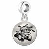 Wichita State Round Dangle Charm