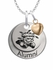 Wichita State Shockers Alumni Necklace with Heart Accent