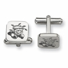 Wichita State Shockers Stainless Steel Cufflinks