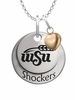 Wichita State Shockers with Heart Accent