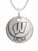 Wisconsin Badgers MOM Necklace