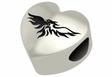 Wisconsin-Green Bay Phoenix Heart Shape Bead