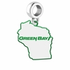 Wisconsin- Green Bay Phoenix Logo Dangle Charm