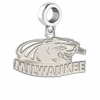 Wisconsin Milwaukee Panthers Dangle Charm