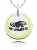 Wisconsin-Milwaukee Panthers Round Enamel Charm