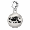 Wisconsin Milwaukee Round Dangle Charm
