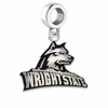 Wright State Raiders Logo Cut Out Dangle