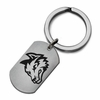 Wright State Raiders Stainless Steel Key Ring
