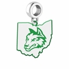 Wright State University Logo Dangle Charm