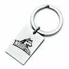 Wright State University Stainless Steel Key Ring