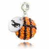 Wyoming Cowboys Crystal Drop Charm