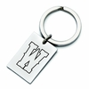 Wyoming Cowboys Stainless Steel Key Ring