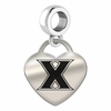 Xavier Engraved Heart Dangle Charm