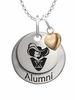 Xavier Musketeers Alumni Necklace with Heart Accent